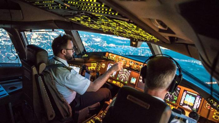 A commercial pilot
