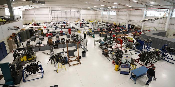 an aviation mechanic school
