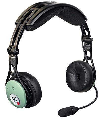 David Clark Hybrid Electronic Noise-Canceling Aviation Headset - DC PRO-X2