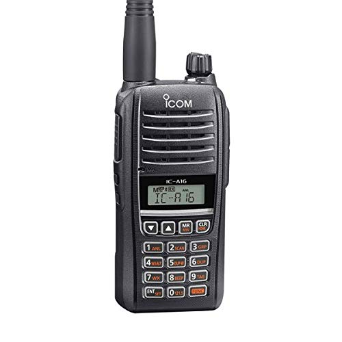 Icom IC-A16B (Bluetooth) VHF Air Band Handheld Transceiver