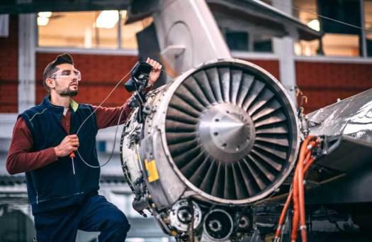 an aviation mechanic