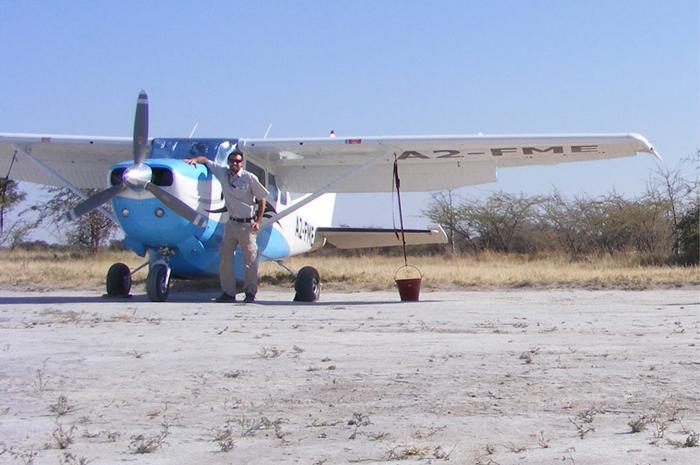 a bush pilot