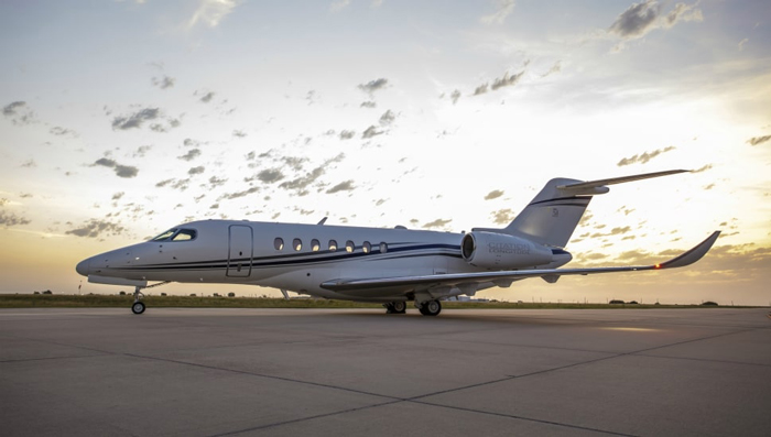 private jet speed